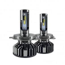 Светодиодные автолампы UpLight F2-ZES-H4 с обманками (8000Лм)