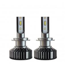 Светодиодные автолампы UpLight F2-ZES-H7 с обманками (8000Лм)