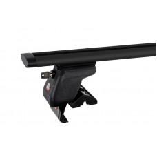 Багажник на крышу Amos Dynamic Black (аэро-крыло) [кожух с замками] Dromader D-5 (1,3) для DAEWOO
