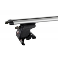 Багажник на крышу Amos Dynamic Plus (аэро-крыло с ключом) [кожух с замками] Dromader D-5 (1,3) для DAEWOO