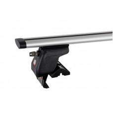 Багажник на крышу Amos Dynamic (аэро-крыло) Dromader D-5 (1,3) [кожух с замками] для DAEWOO